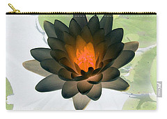 Carry-all Pouch featuring the photograph The Water Lilies Collection - Photopower 1035 by Pamela Critchlow