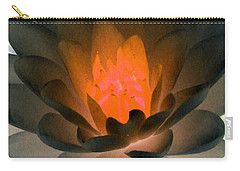 Carry-all Pouch featuring the photograph The Water Lilies Collection - Photopower 1036 by Pamela Critchlow