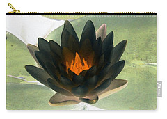Carry-all Pouch featuring the photograph The Water Lilies Collection - Photopower 1037 by Pamela Critchlow