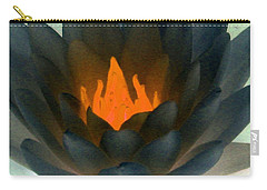 Carry-all Pouch featuring the photograph The Water Lilies Collection - Photopower 1038 by Pamela Critchlow