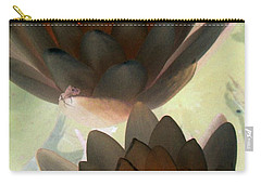 Carry-all Pouch featuring the photograph The Water Lilies Collection - Photopower 1042 by Pamela Critchlow