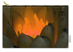 Carry-all Pouch featuring the photograph The Water Lilies Collection - Photopower 1043 by Pamela Critchlow