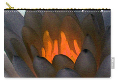 Carry-all Pouch featuring the photograph The Water Lilies Collection - Photopower 1044 by Pamela Critchlow