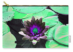 The Water Lilies Collection - Photopower 1113 Carry-all Pouch by Pamela Critchlow