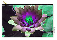 Carry-all Pouch featuring the photograph The Water Lilies Collection - Photopower 1114 by Pamela Critchlow