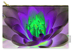 Carry-all Pouch featuring the photograph The Water Lilies Collection - Photopower 1115 by Pamela Critchlow