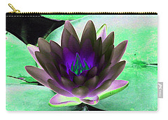 Carry-all Pouch featuring the photograph The Water Lilies Collection - Photopower 1116 by Pamela Critchlow