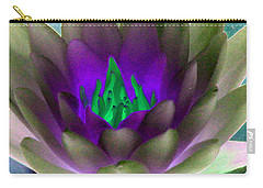 Carry-all Pouch featuring the photograph The Water Lilies Collection - Photopower 1117 by Pamela Critchlow