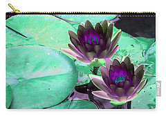 Carry-all Pouch featuring the photograph The Water Lilies Collection - Photopower 1118 by Pamela Critchlow