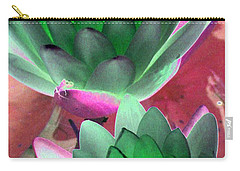 Carry-all Pouch featuring the photograph The Water Lilies Collection - Photopower 1121 by Pamela Critchlow