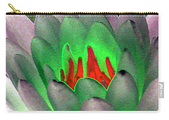 Carry-all Pouch featuring the photograph The Water Lilies Collection - Photopower 1123 by Pamela Critchlow
