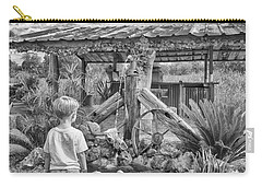 Carry-all Pouch featuring the photograph The Watering Hole by Howard Salmon