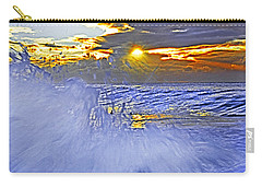The Wave Which Got Me Carry-all Pouch by Miroslava Jurcik