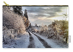 Carry-all Pouch featuring the photograph The Way Home by Rory Sagner