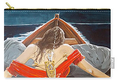 The Whims Of The Moon  Carry-all Pouch by Lazaro Hurtado