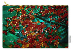 The Whispering Leaves Of Autumn Carry-all Pouch
