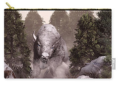 The White Buffalo Carry-all Pouch by Daniel Eskridge
