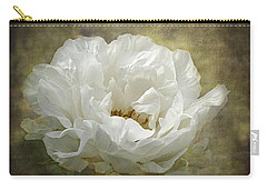 The White Peony Carry-all Pouch