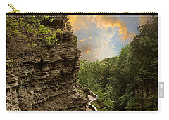 The Winding Trail Carry-all Pouch by Jessica Jenney
