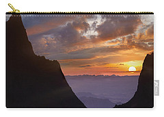 The Window At Sunset Big Bend Np Texas Carry-all Pouch