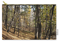 Carry-all Pouch featuring the photograph The Woods by William Norton