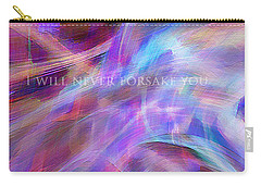 Carry-all Pouch featuring the digital art The Writing's On The Wall by Margie Chapman