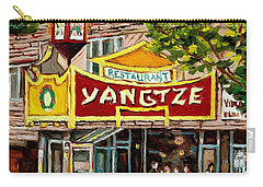 The Yangtze Restaurant On Van Horne Avenue Montreal  Carry-all Pouch