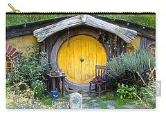 The Yellow Hobbit Door Carry-all Pouch by Venetia Featherstone-Witty