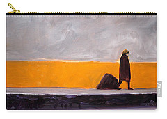 The Yellow Wall Carry-all Pouch
