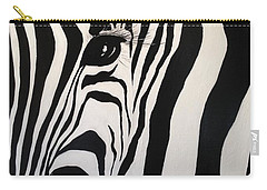 The Zebra With One Eye Carry-all Pouch