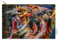 Their Spirit Is Among Us - Nanticoke Powwow Delaware Carry-all Pouch