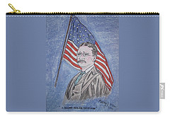 Theodore Roosevelt Carry-all Pouch by Kathy Marrs Chandler