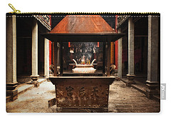 Carry-all Pouch featuring the photograph Thien Hau Temple  by Lucinda Walter