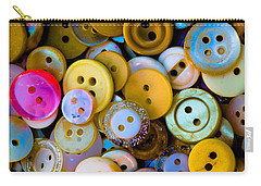 Thimble And Needle Carry-all Pouch by Edgar Laureano