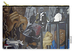 Think Black Man Carry-all Pouch by Chelle Brantley