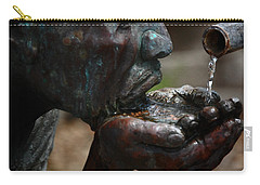 Carry-all Pouch featuring the photograph Thirst Quencher by Leticia Latocki