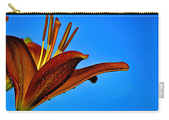 Thirsty Lily In Hdr Art  Carry-all Pouch