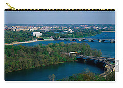 This Is An Aerial View Of Washington Carry-all Pouch by Panoramic Images