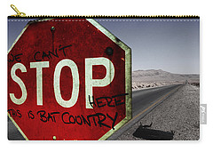 This Is Bat Country Carry-all Pouch by Nicklas Gustafsson
