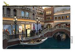 It's Not Venice - The White Wedding Gondola Carry-all Pouch by Georgia Mizuleva