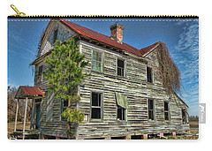 This Old House 2 Carry-all Pouch by Victor Montgomery
