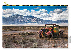 This Old Truck Carry-all Pouch by Robert Bales