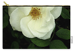 Carry-all Pouch featuring the photograph This Rose For You by James C Thomas