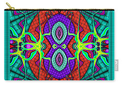 This Rough Magic 3 Carry-all Pouch by Wendy J St Christopher