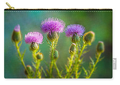 Thistle In The Sun Carry-all Pouch