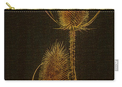 Carry-all Pouch featuring the photograph Thistles by Hanny Heim