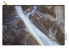 Carry-all Pouch featuring the photograph Thjosa by Gunnar Orn Arnason