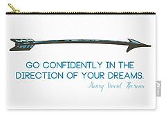 Thoreau Arrow Carry-all Pouch