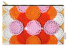 Thread On Canvas Carry-all Pouch