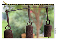 Three Bells - Square Carry-all Pouch by Gordon Elwell